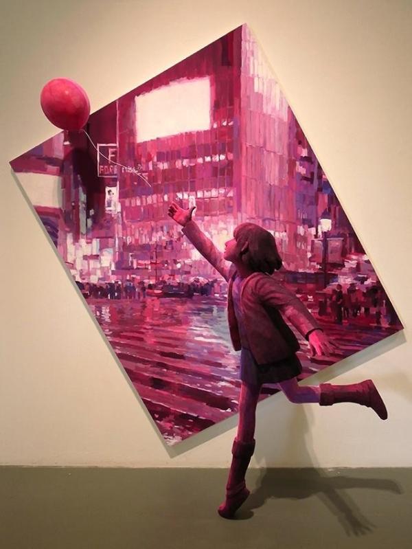 Japon sanatçı Shintaro Ohata'nın üç boyutlu çalışmaları (15 fotoğraf)