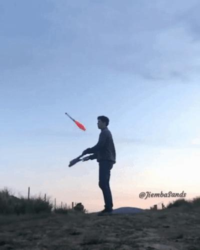 Неудачи во время жонглирования (15 гифок)