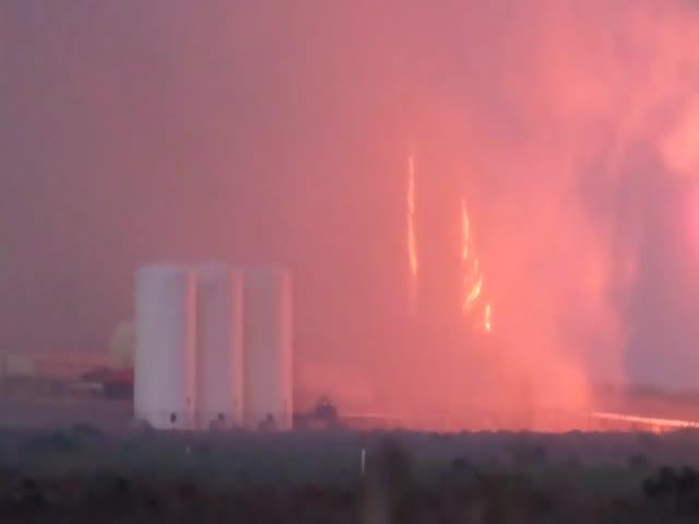 SpaceX провела тестовый прожиг двигателя космического корабля Starship Hopper