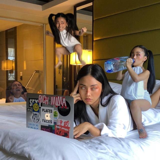 Художница MLMA из Сеула публикует очень странные фотографии (16 фото)