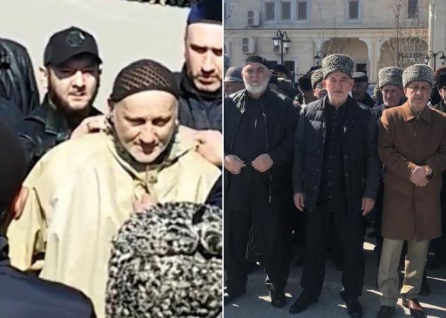 Обряд примирения кровников в Чечне, которые враждовали более 20 лет (4 фото + видео)