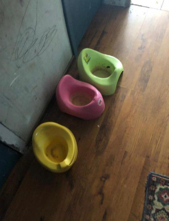 В Мытищах органы опеки забрали 4 детей-маугли у матери (7 фото + видео)