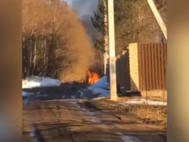 Три школьницы сожгли соседский дом, чтобы снять эффектное видео для Instagram