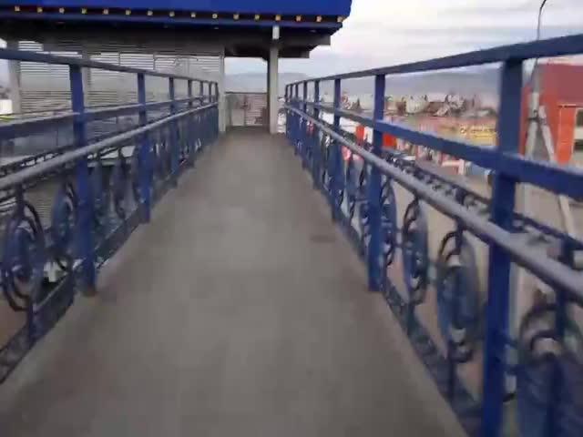 Новости нанотехнологий: мост из пенопласта в Бурятии