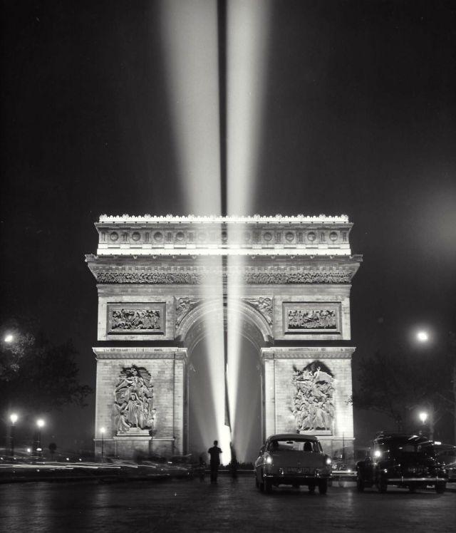 Париж 50-х годов (35 фото)
