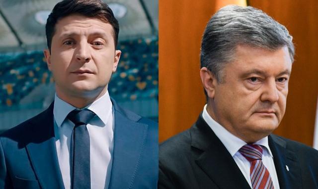 Прямой эфир: дебаты кандидатов в президенты Украины Петра Порошенко и Владимира Зеленского
