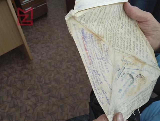 В Чебаркуле нашли пачку фронтовых писем, которые не были отправлены в 1943 году (5 фото)