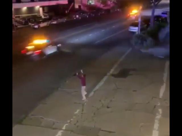 Когда прямой эфир полицейской погони у тебя прямо за окном