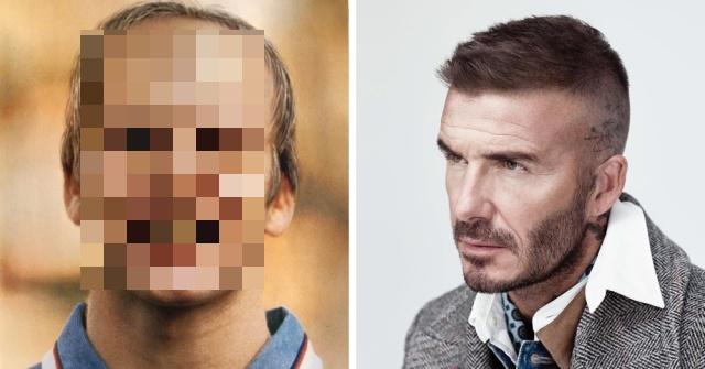 """В 1998 году журналисты попытались """"предсказать"""" внешность Дэвида Бекхэма в 2020 году (10 фото)"""
