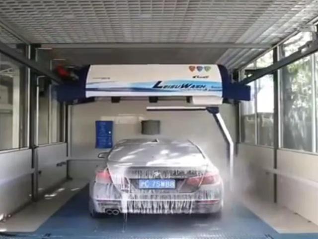 Современная автоматическая мойка автомобилей