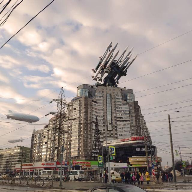Необычные пейзажи Санкт-Петербурга от художника Вадима Соловьева (20 фото)