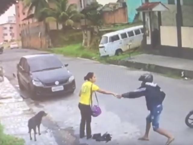 Бразильский грабитель оказался не в том месте и не в то время