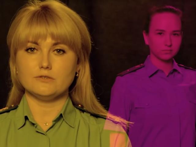 Судебные приставы из Иркутска сняли клип для должников