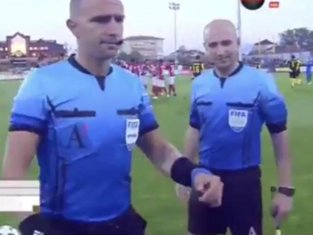 Необычный жребий во время матча на чемпионате Болгарии
