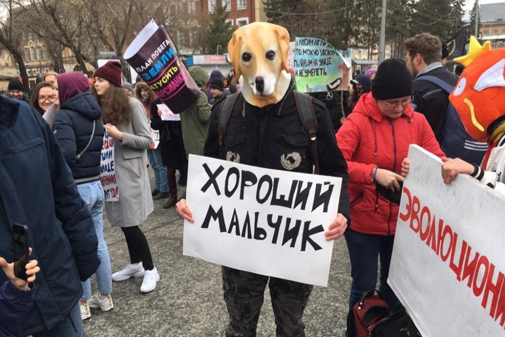 """""""Монстрация-2019"""": 1 мая в России (29 фото)"""