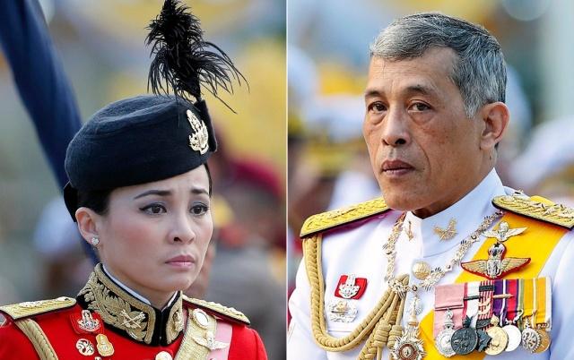 Бывшая стюардесса стала новой королевой Таиланда (4 фото + видео)