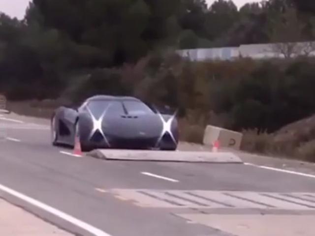 Суровый краш-тест суперкара Koenigsegg Regera
