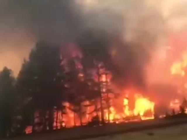 Причиной смога в Иркутске стали лесные пожары