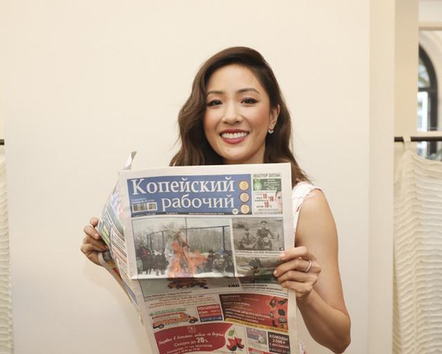 """Свежая порция голливудских звёзд с газетой """"Копейский рабочий"""" (14 фото)"""