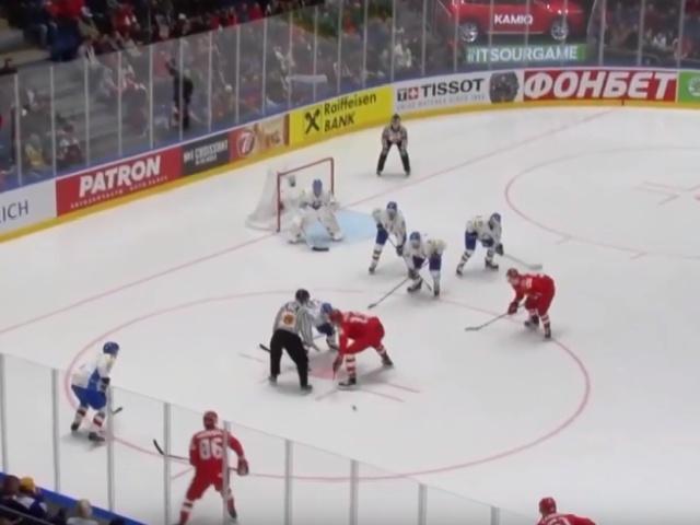 Сборная России обыграла сборную Италии со счетом 10:0