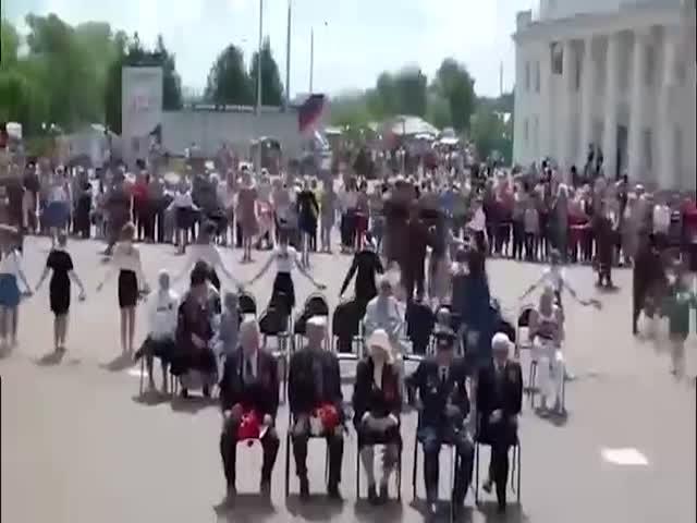 Конфуз на выступлении в Тульской области ко Дню Победы
