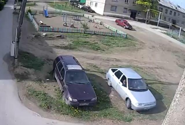 Моё место, я здесь всегда паркуюсь!