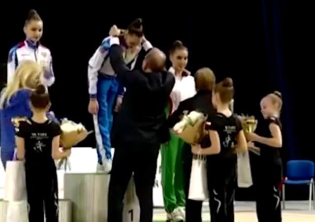 Российские спортсменки были награждены в Чехии под гимн СССР