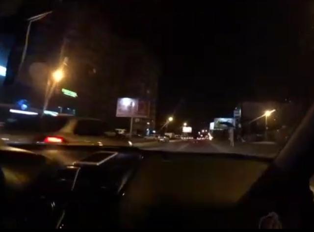"""Краснодарские """"гонщики"""" решили немного покататься по городу"""