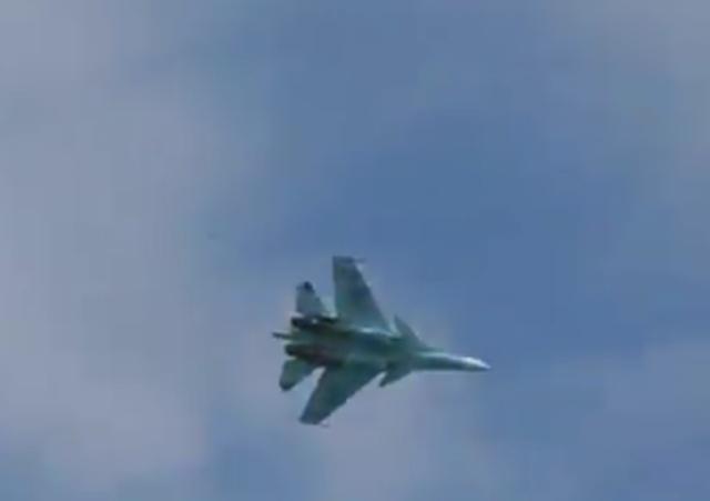Нештатная ситуация с участием истребиля Су-30СМ