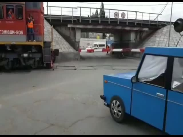 Креативный ролик от ГИБДД Омска