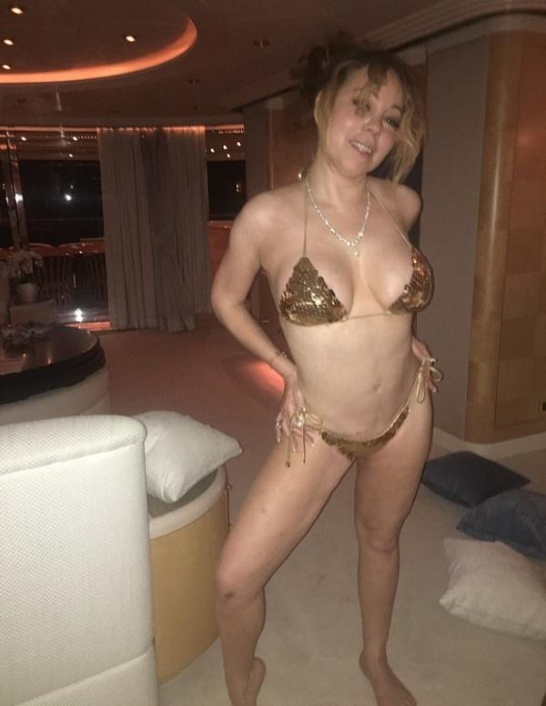 Фотографии, которые Мэрайя Кэри отправляла своему любовнику-танцору, когда была помолвлена с миллиардером (6 фото)
