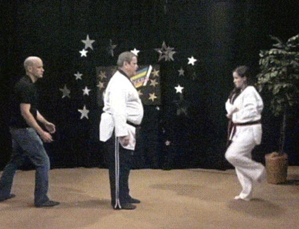 Фейлы в боевых искусствах (17 гифок)
