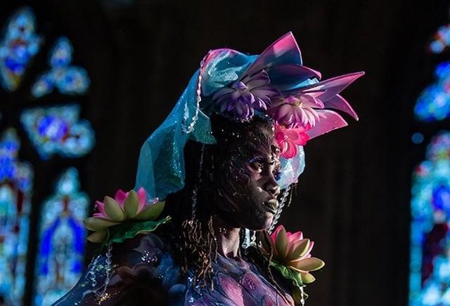 """Модели конкурса """"Холст для творчества"""", чьи тела стали произведением искусства (8 фото)"""