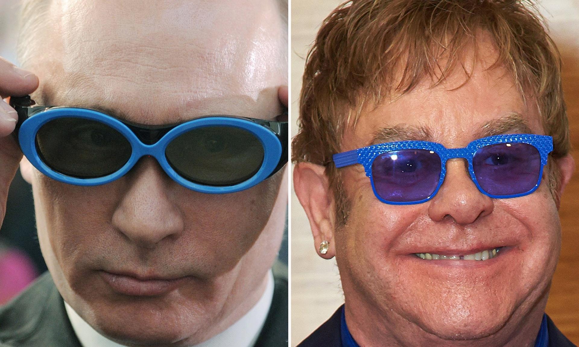 Владимир Путин позвонил Элтону Джону чтобы обсудить проблему секс-меньшинств