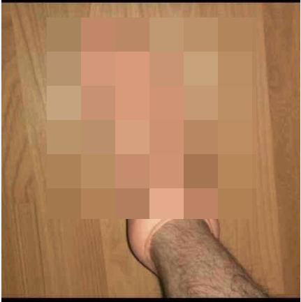 Странный носок