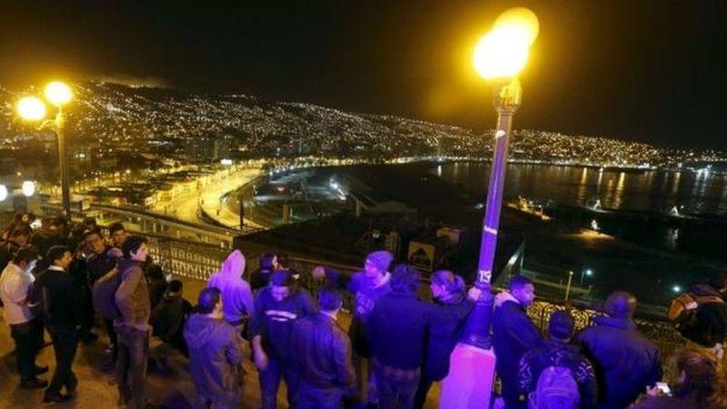 Землятрясение в Чили – 5 погибло, более миллиона эвакуировано