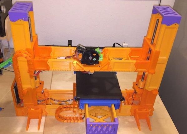 Свершилось - 3Д принтер напечатал 3Д принтер