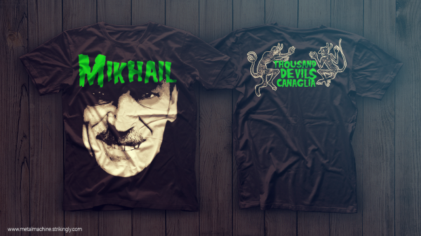 Металлические футболки