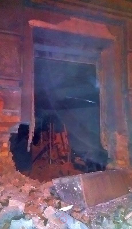 У одесского СБУ произошел взрыв