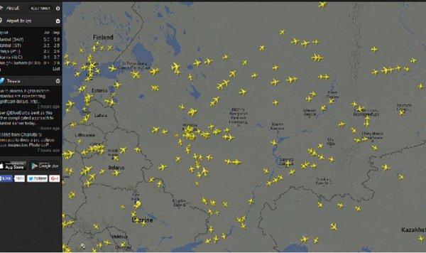 Россия запретила украинским авиакомпаниям использовать свое воздушное пространство