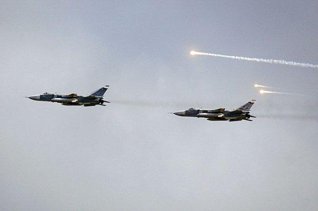 Российские ВВС нанесли первый авиаудар в Сирии