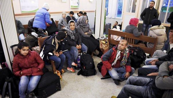 В Финляндии беженцы устроили акцию протеста, требуя улучшить качество еды