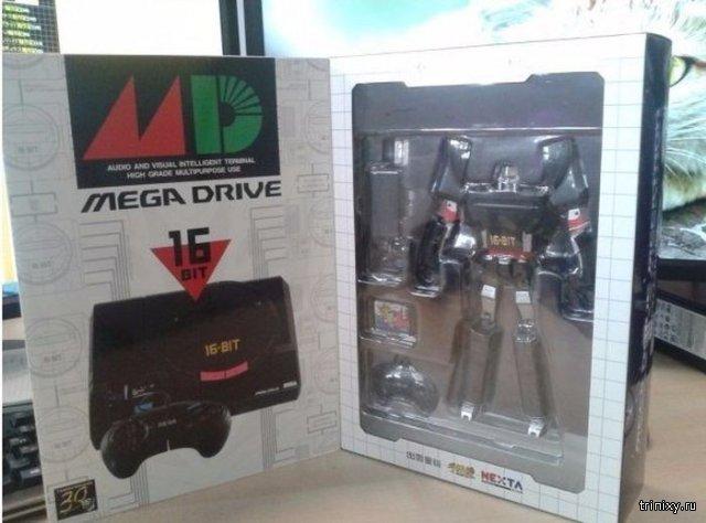Уникальная приставка-трансформер Sega Mega Drive из лимитированной версии