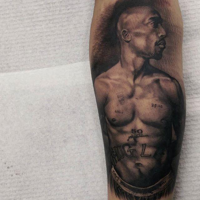 Удивительные татуировки Мэтта Джордана