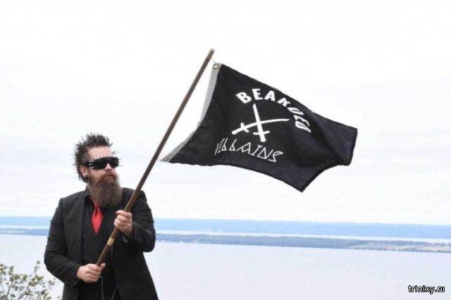 Членов шведского клуба бородачей приняли за экстремистов «Исламского государства»