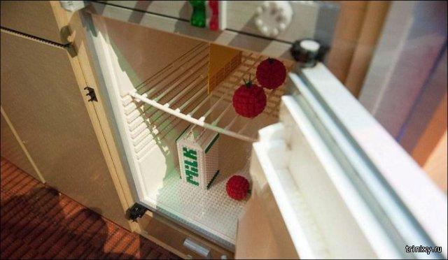 Прицеп-караван из конструктора Lego