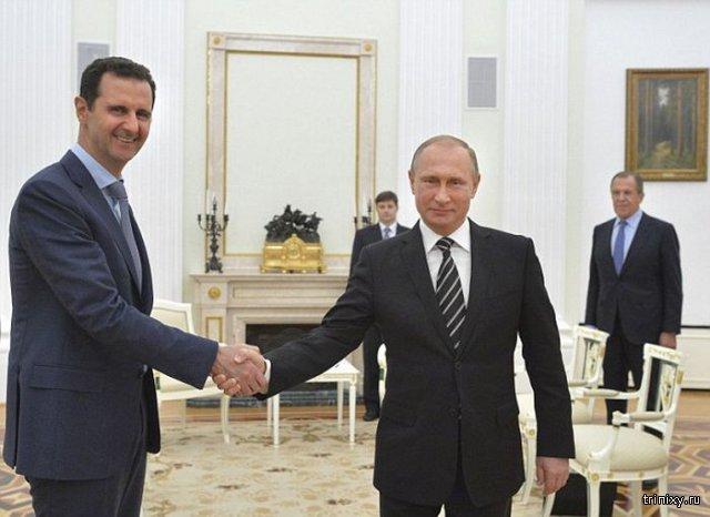 В Москве состоялась встреча Башара Асада и Владимира Путина