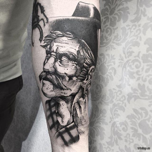 Удивительный татуировки
