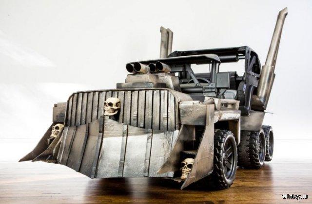 Родители создали для детей потрясающий автомобиль в стиле «Безумного Макса»