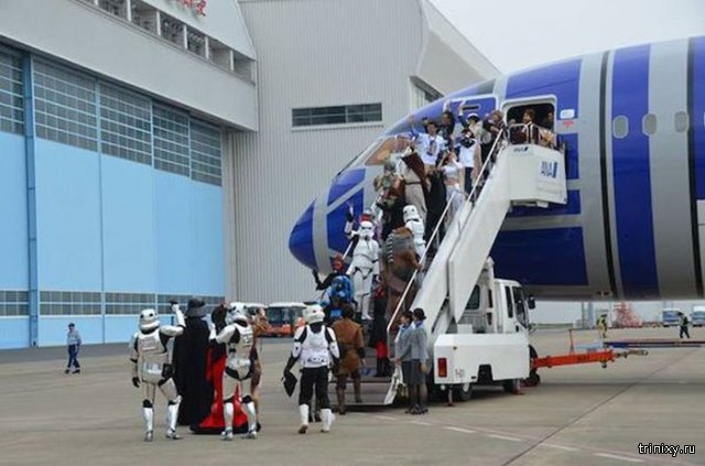 В Японии появились пассажирские самолеты для поклонников «Звёздных войн»